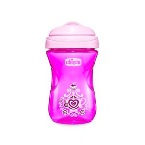 2118877 Chicco Vaso Easy Cup 12 meses Rosa x 266 ml img1